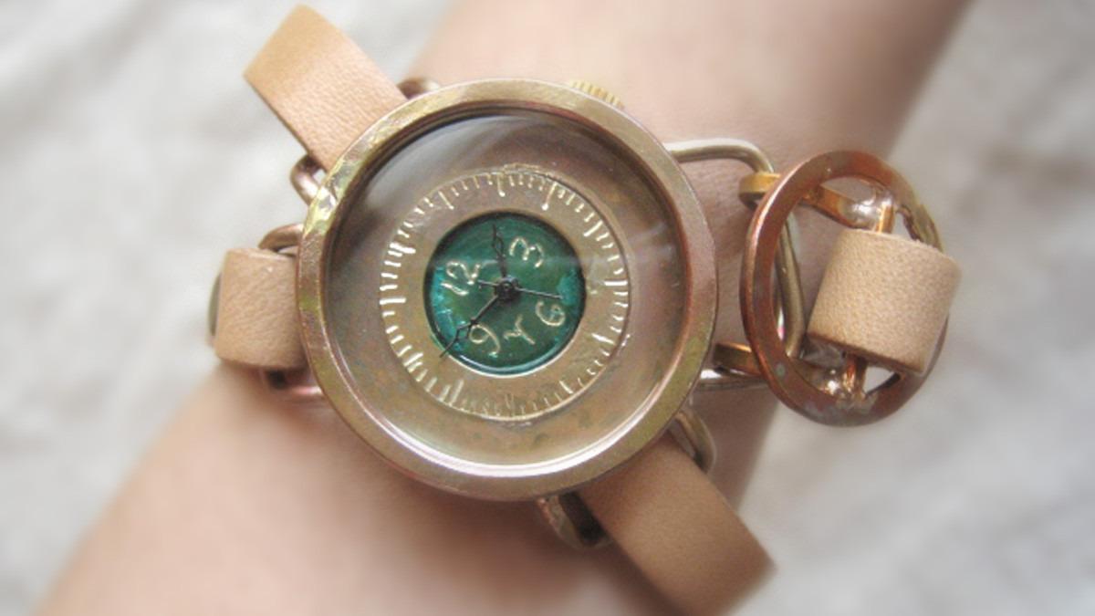 【JHA関西】時計作家のハンドメイド腕時計