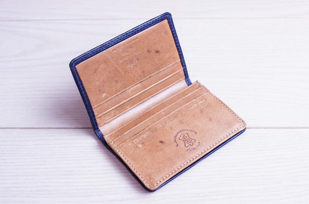 ホワイトハウスコックスのキャッシュレス用コンパクト財布