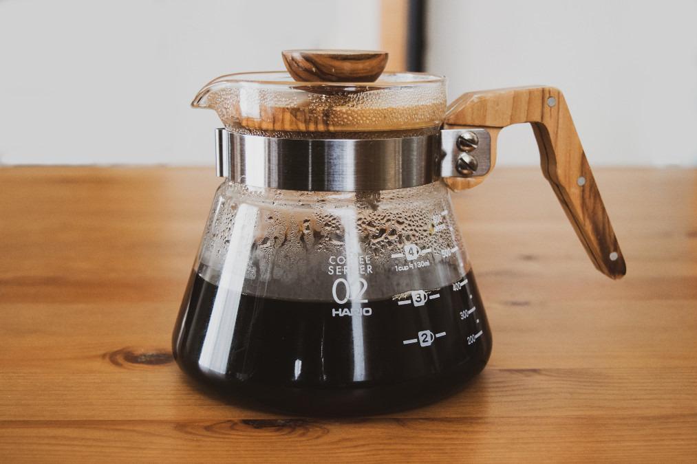 ハリオ コーヒーサーバー オリーブウッド
