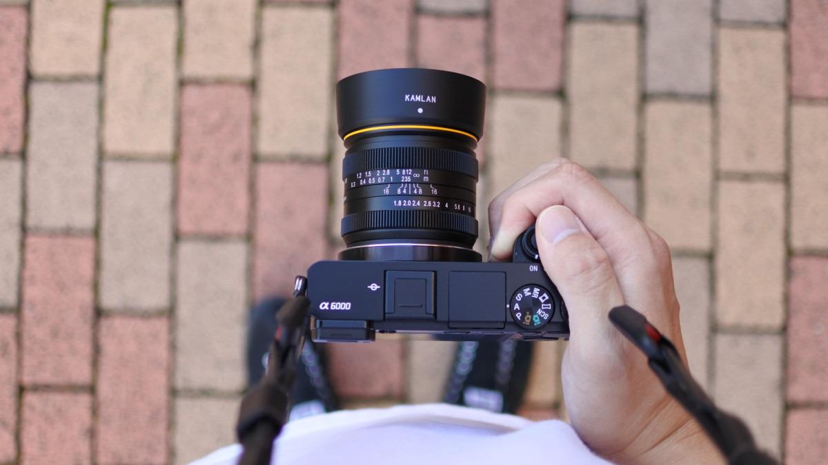 Kamlan 21mm F/1.8 マニュアルフォーカスレンズ(SONY Eマウント対応)