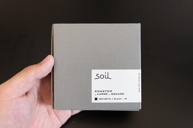 soil 左官屋さんが作るこだわりの珪藻土コースター