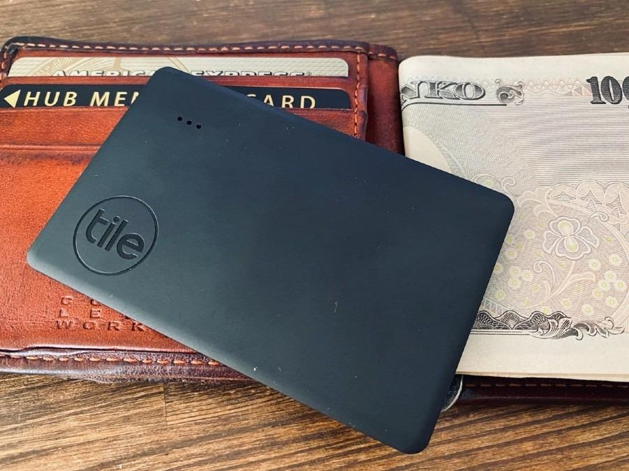 また海外で財布を紛失しないように…「Tile Slim 2020」