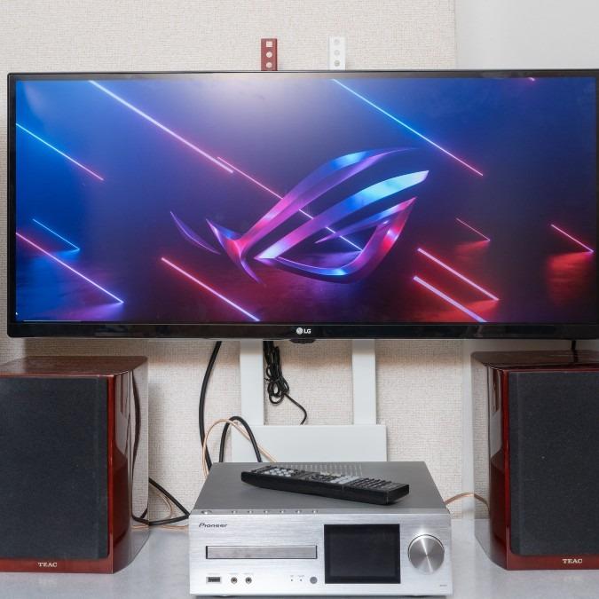 壁寄せテレビスタンド WALL V2 ハイタイプ 32~60V対応 サテンホワイト