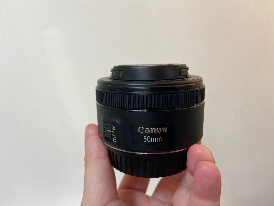 みんな大好き撒き餌レンズ!キャノン EF50mm F1.8stm