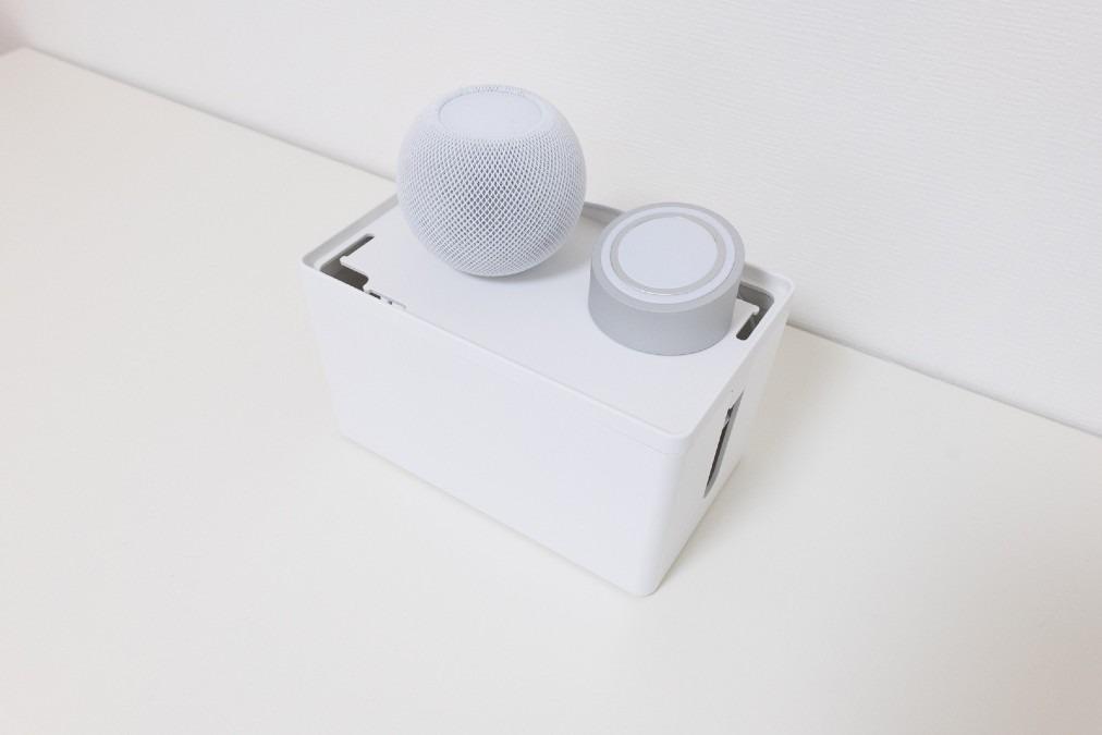 サンワサプライ ケーブル収納ボックス+Magsate