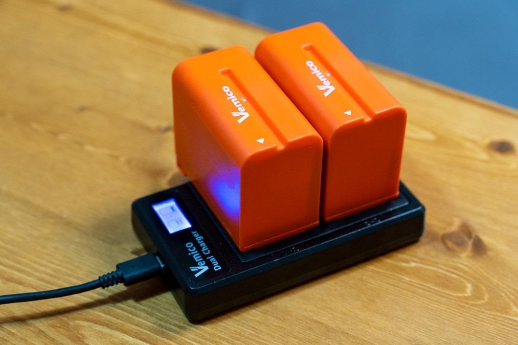 【カメラ】Vemicoの互換バッテリー「NP-F970」は実用で使えるのか?検証と実機レビュー