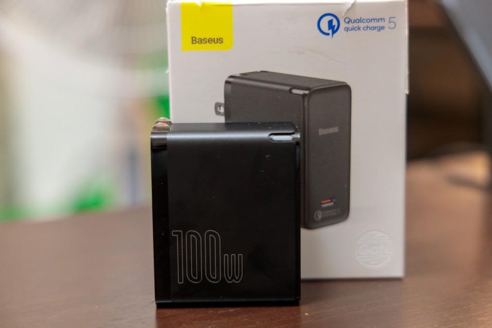 世界初のQC 5.0を搭載する急速充電器「Baseus 100W PD 充電器」
