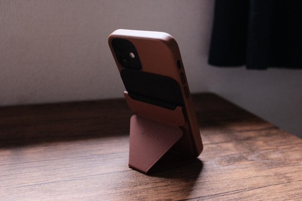 【MOFT】iPhone 12シリーズ用 MagSafe対応スマートフォンスタンド